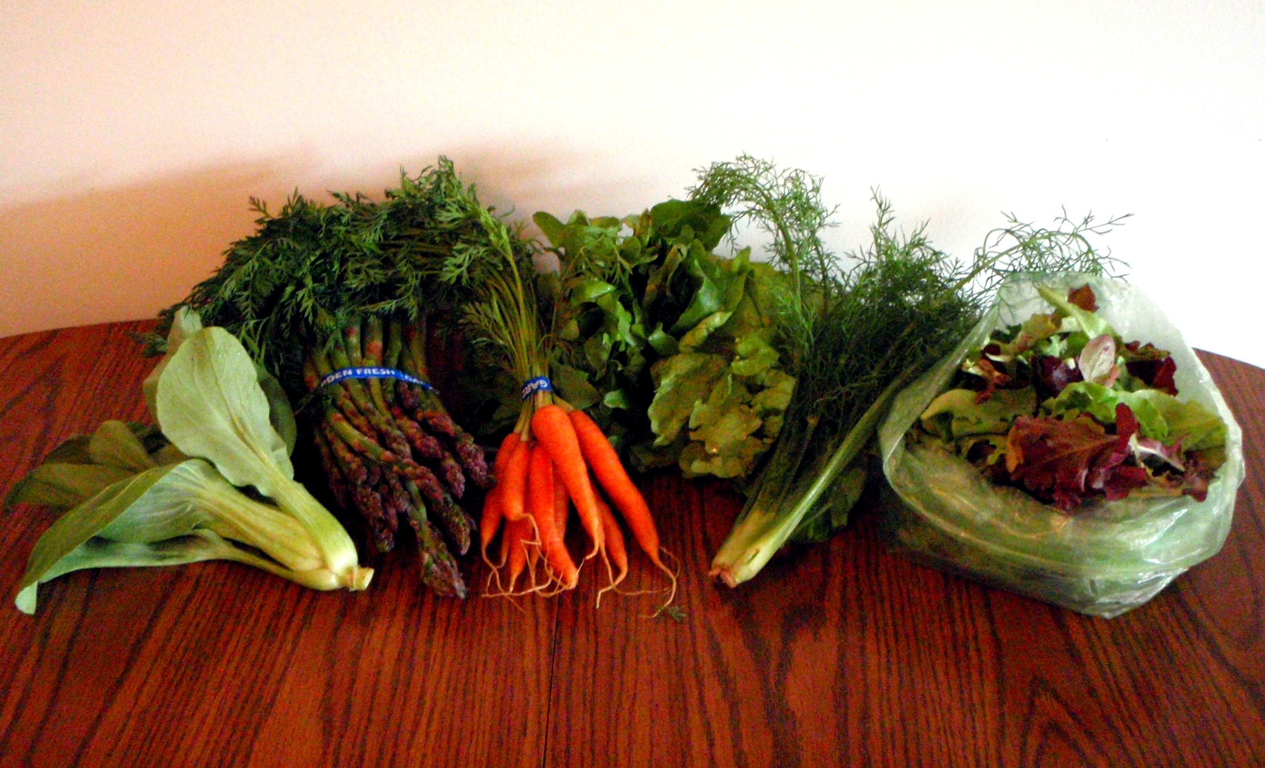 Our CSA: Wrappin' Up Week 2