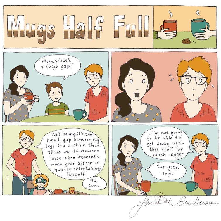 Mugs Half Full